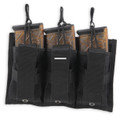 Bulldog BDT-62 Tri-Double Molle mag - pouch black (holds 3 MSR mags + - BDT-62