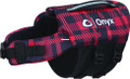 Onyx 157200-100-020-19 Neoprene Pet - Vest Red Plaid Small - 157200-100-020-19