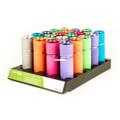 Luxpro LP395 Glow-in-the-Dark 9 LED - 40Lumen Flashlight, Asstd Colors - LP395