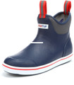 "Xtratuf 22733-13 6"" Full Rubber - Deck Boot - Size 13 - Navy/Red - 22733-13"