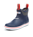 "Xtratuf 22733-10 6"" Full Rubber - Deck Boot - Size 10 - Navy/Red - 22733-10"