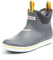 "Xtratuf 22735-10 6"" Full Rubber - Deck Boot - Size 10 - Gray/Yellow - 22735-10"
