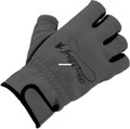 Frogg Toggs 28583-LG Frogg Fingers - Fleece Gloves Fingerless Gray - 28583-LG