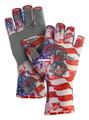 Fish Monkey FM11-AMER-XL Half - Finger Guide Glove, UPF+50 - FM11-AMER-XL