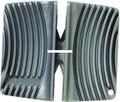 Rapala SH2 Two-Stage Ceramic Knife - Sharpener, Coarse & Fine, Gray - SH2