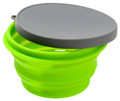 Alpine Mountain Gear AMGCSB-M - Silicone Medium Bowl W/Lid - AMGCSB-M