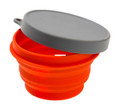 Alpine Mountain Gear AMGCSB-S - Silicone Small Bowl W/Lid - AMGCSB-S