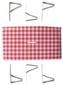 Stansport 610-611 Picnic Table - Cloth With Clamps, Combo Pack - 610-611