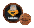 Dead End Game Calls RB004 Roadblock - Walnut Glass Turkey Call - RB004