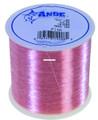 Ande A14-12P Premium Mono Line - 1/4lb Spool 12lb 1000yd Pink - A14-12P