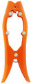Blakemore BG-ORG 8in Brush Gripper - Unpainted Orange, 1 per pk - BG-ORG