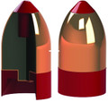 Powerbelt AC1597AT Bullets .54Cal - 348Gr Cop Aerotip 15Pk - AC1597AT