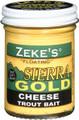 Zeke's 0901 Sierra Gold Floating - Trout Bait, Jar, Cheese Yellow - 901