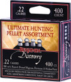 Benjamin 22BHPA Ultimate Hunting - Pellet Assortment, 14.3gr, .22 Cal - 22BHPA