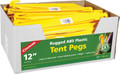 "Coghlans 9313 ABS Tent Pegs 12"" - Bulk 100Pc - 9313"
