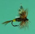 Jackson Cardinal 002-12 Dry Fly - #12, Adams Female - 002-12