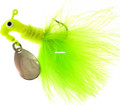 Road Runner 1003-012 Marabou Jig - w/Spinner, 1/8 oz - 1003-012