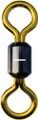 Pucci 100-1-12PK Barrel Swivel Sz 1 - Brass 12Pk - 100-1-12PK