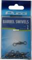 Pucci 10-BKB-5 Barrel Swivel Black - 6Pk - 10-BKB-5