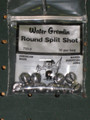 Water Gremlin 735-2 Round - Split-Shot 10Pc - 735-2