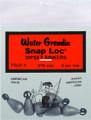 Water Gremlin PSLD-9 Snap-Loc - Dipsey Swivel Sinker - PSLD-9