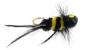 Lakco 148SF-BY Jig Fly, 1/48 oz - Black/Yellow - 148SF-BY