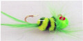 Lakco 148SF-YG Jig Fly, 1/48 oz - Yellow/Green - 148SF-YG