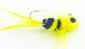 Lakco 124CR-YB Jig Fly, 1/24 oz - Yellow/Black - 124CR-YB