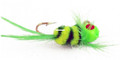 Lakco 124CR-YG Jig Fly, 1/24 oz - Yellow/Green - 124CR-YG