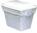 Lifoam 3550 Styrofoam Picnic Chest - w/Molded Handles 28 Qt  - 3550