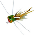 Betts 07-10 Frugal Frog Fly Popper - Sz. 10, Assorted - 43656
