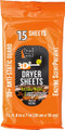 "Dead Down Wind 11913 3D+ Natural - Woods Scent Dryer Sheets, 8"" x 7"" - 11913"