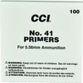 CCI 0001 No. 41 Primer For 5.56Mm - 100 Ct - 1