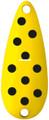 Worth 20767 Chippewa Spoon, 5/8 oz - Yellow/Black Spots - 20767
