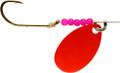 Little Joe LR775 Walleye Spinner - Flo Red Strip Cd - LR775