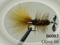 Pistol Pete 06003-2PK Pistol Pete - 06003-2Pk Trout/Panfish Flies #6 - 06003-2PK