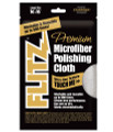 "Flitz International Ltd - Microfiber Polishing Cloths - Thick 'n Thirsty 16"" X 16"" Grey - Single Bag - MC200"