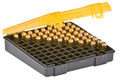 Plano Molding Company - Cartridge Box .45- 40sw -10mm Amber/charcoal 100ct. - 122700