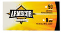 Advanced Tactical Int'l Corp. - Arm 9mm 115gr Fmj 50 Rounds - FAC92N