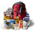Wise Company - 5 Day 1 Person 32 Servings Entrees & Drinks Survival Back Pack (red) - 01621GSGRED