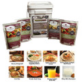Wise Company - 7 Day 1 Person 52 Servings (4 Entrees 2 Breakfasts 2 Beverages) Bucket - 1152