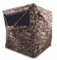 "Gsm - 3-person Hub Ground Blind 75"" X 75"" X 67"" - Cervidae Camo - HMEGRDBLND3CVD"