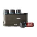 Coleman 2000035450 Battery - Onesource 4Pk + Chrg 4Slot - 2000035450
