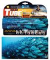 AFN AC9115 Solar Tube,Fish School - Blue, Cool Max UPF 40,Breathable - AC9115