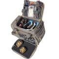 G.P.S. GPS-1512MLBRK M/L Range Bag - w/Foam Cradle for 4 handguns 2 Ammo - GPS-1512MLBRK