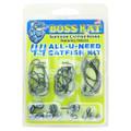 Boss Kat BKHSK ALL-U-NEED 44 pc - Hook and Sinker Catfish Kit Made in - BKHSK