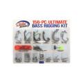 Eagle Claw LWHKWM-2 Ultimate Bass - Terminal Rigging Kit, Hooks, Beads - LWHKWM-2