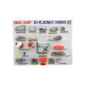 Eagle Claw ECKWM-2 Ultimate - Terminal Kit, Hooks, Beads, Swivels - ECKWM-2