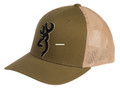 Browning 308110641 Cap Bloodline - Loden Mesh Back Flex Fit W/Snap - 308110641