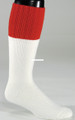 Fox River 7587-1000-L Red Top Boot - For Shoe Sz9-12 White - 7587-1000-L